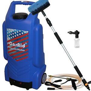 Caraid 9906 12v Portable Car Washer W Large Water Tank Portable Pressure Washer Ebay