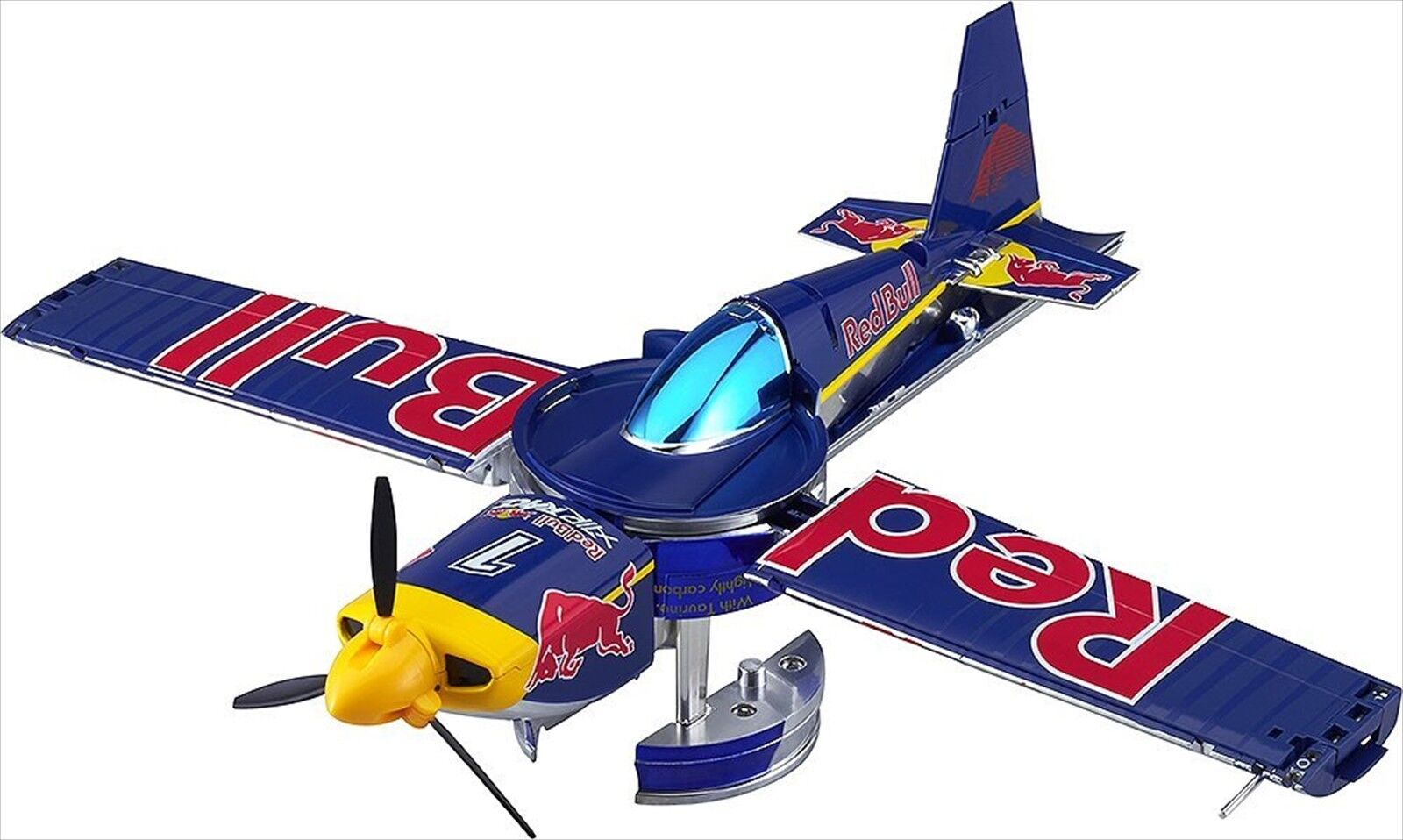 Red Bull Air Race transforming plane non-scale ABS & METAL-made finished go NEW