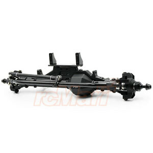 Xtra-Speed-Axial-SMT10-RR10-AR60-Aluminum-CNC-amp-Alloy-Front-Axle-XS-AW-1XS