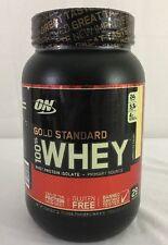 Optimum Nutrition ON 100% Whey Protein Gold Standard 2 Lb vanilla ice cream NEW