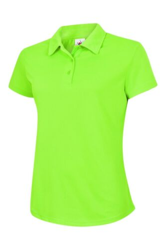 Ladies Sports Poloshirt UNEEK Ultra Cool Women/'s Breathable Running Comfort Polo