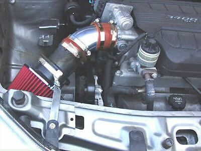BCP RED 2005 2006 2007 2008 Chevy Equinox LS LT Sport 3.4L V6 Short Ram Intake