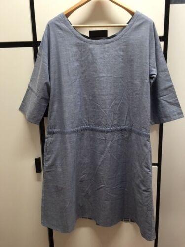 Utility Jacket Blue Linen Veritecoeur Housecoat Cotton Kimono 4nq0gF7w