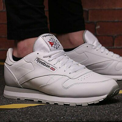 Reebok Classic Men Iconic Shoes Leather