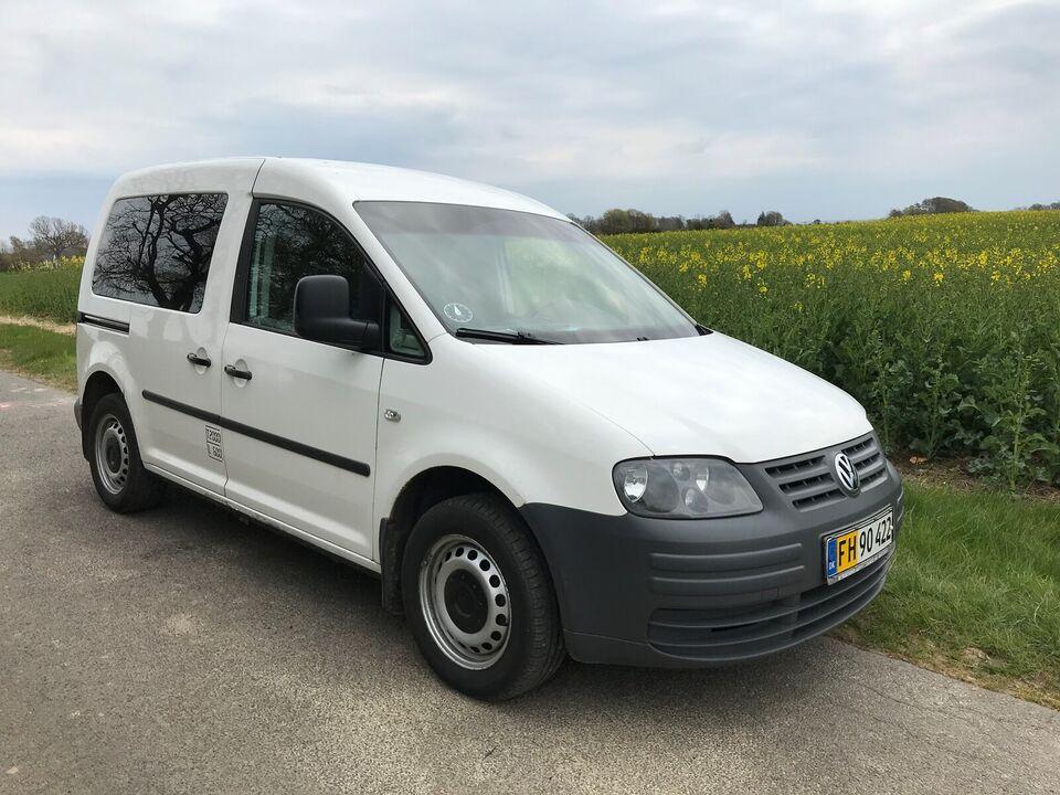 VW, Caddy, 1,9 TDi 105 Van