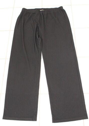 Pantaloni in Marina ~ nera vita Taglia Nwot donna Xl Pantaloni Rinaldi da Elastico wX68gxOq