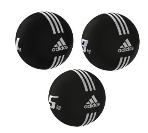 Adidas-Medicina Ball aproximamujerte. (ad-1222). 5kg. pegadizo. zupumpen de aire posible.