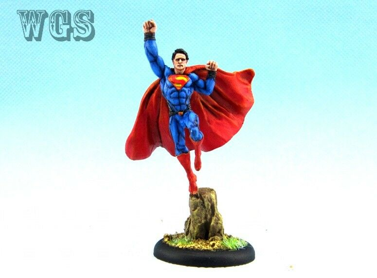 35 mm Knight Models peint Batman Miniature Jeu SUPERMAN KM010