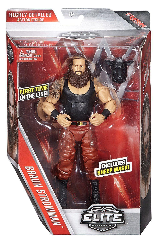 WWE ELITE brown STROWMAN SERIES 44 MATTEL WRESTLING FIGURE BRAND NEW BOXED