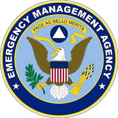 Stickers  Emergency Management Agency EMA Decals