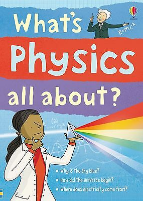 Usborne Science Book What's Physics all About Children Educational Book