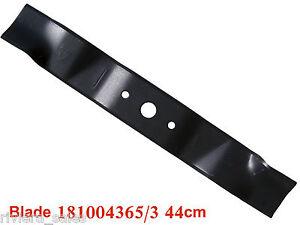 "17/""// 44cm Lawnmower Blade Replaces Mountfield 81004365//3"