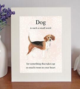 Beagle dog gift Vase