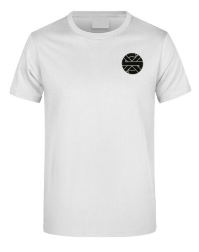 Crasse Logo punk symbole brodé Bricolage T-Shirt Homme Logo à Manches Courtes