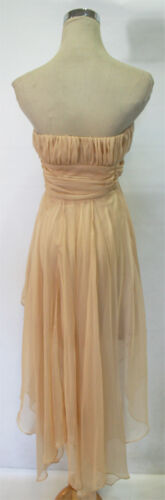 WINDSOR Beige Cocktail Homecoming Party Dress L $80 NWT