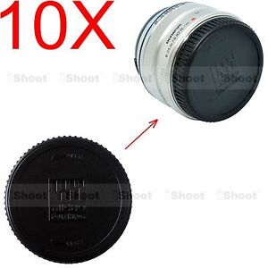 10x-Rear-Lens-Cap-Cover-for-Panasonic-Micro-4-3-Four-Thirds-H-HS-H-X-H-F-series