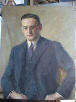 Rudolf HINDERER Nürnberg Slevogt-Schüler Portrait Horst von SASSEN 1927