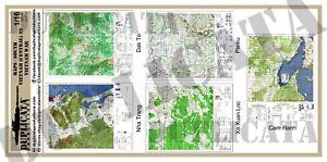 Diorama Accessory - 1/16 (120mm) Maps - South Vietnam (Central) #2 ...