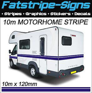 M MOTORHOME VINYL STRIPES GRAPHICS STICKERS DECALS CAMPER VAN - Graphics for caravanscaravan stickers ebay
