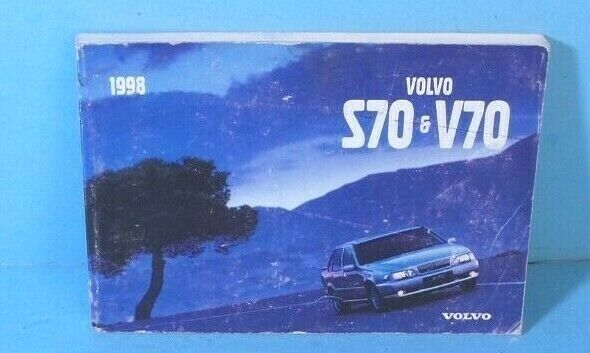 98 1998 Volvo S70  V70 Owners Manual