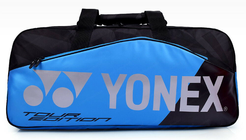 YONEX TOURNAMENT BAG 9831W blau Tasche Badminton Tennis Squash NEU /& OVP