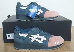 Ronnie Fieg x Asics Gel Lyte III Salmon toe 2 us11.5/eu46 Miami Koi Flamingo