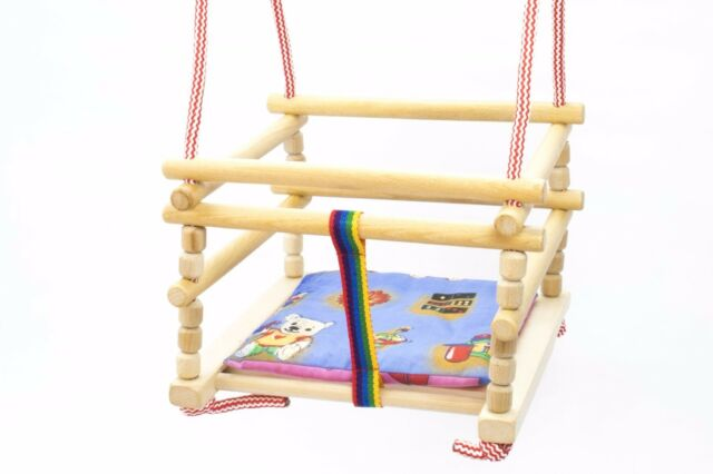 Baby Children Kids Indoor Door Bouncer Wooden Rope Swing Seat Chair ...