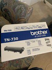 Brother TN730 Black Toner Cartridge Standard Yield