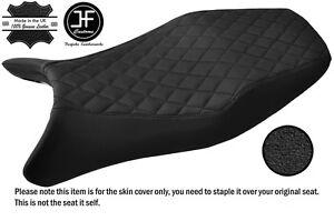 BLACK AUTOMOTIVE VINYL CUSTOM FITS KAWASAKI KLE 500 91-07 DUAL SEAT COVER ONLY