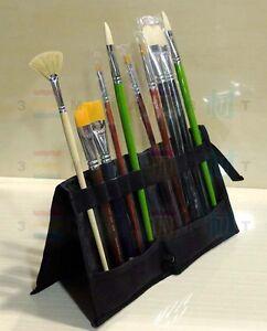 Artist-Brush-Folding-Wallet-Mont-Marte-Painting-Paintbrush-Case-Bag-Holdrer