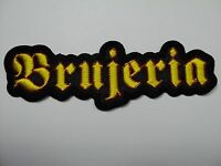 Brujeria Shaped Logo Embroidered Patch
