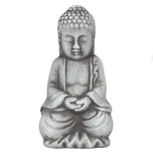 Details Sur Petit Gris Bouddha En Terre Cuite Decoration De Jardin Fete Meres Jardinage Idee Cadeau Afficher Le Titre D Origine