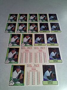 Jackson-Todd-Lot-of-42-cards-8-DIFFERENT