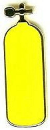 yellow tank Pin SC350 SCUBA DIVING