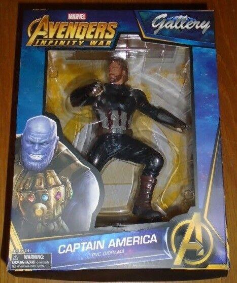 Avengers Infinity War Captain America PVC Diorama Diamond Gallery