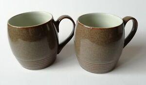 Denby-Greystone-Tea-Coffee-Mugs-x-2