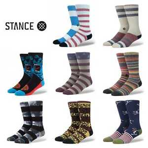 Stance-Socken-Herren-Crew-Athletic-Authentic-Socken-Groesse-gross-9-12-Buy-2-Get-3