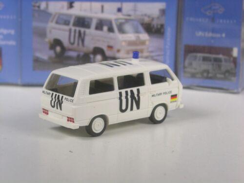 VW T3 Bundeswehr Militär Polizei 4 Sonderpreis Wiking C/&I UN Edition Nr