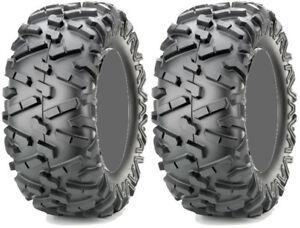 Pair-2-Maxxis-Bighorn-2-0-27x9-14-ATV-Tire-Set-27x9x14-27-9-14