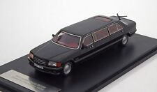 Mercedes-Benz W126 S-class LWB black metallic NEO [45357]