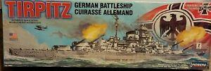 Lindberg-Tirpitz-German-Battle-Ship-1-350-Model-Kit-WWII-Navy-BRAND-NEW-SEALED