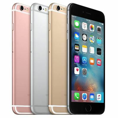 Apple iPhone 6 6S 5S Sim Free Grey/Gold/Silver (Factory Unlocked) Smartphone