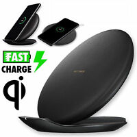 Qi Fast Wireless Charger Rapid Charging Stand for Samsung Galaxy Note 8/S8 Plus