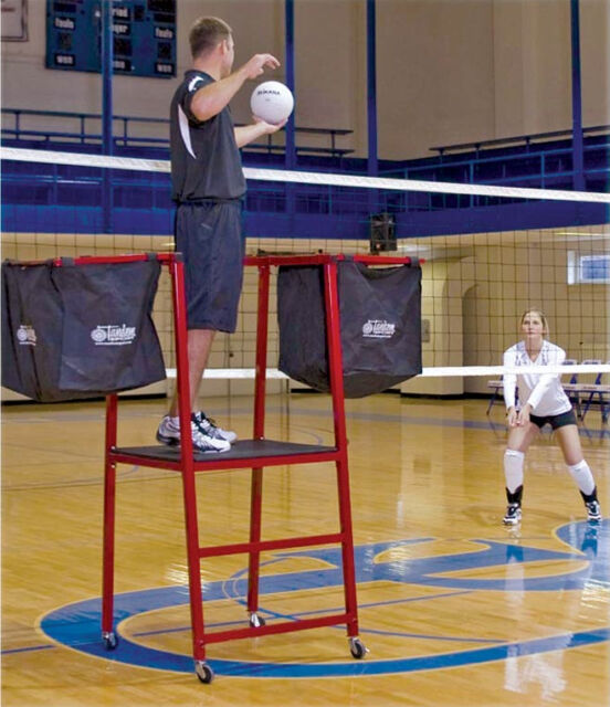 Tandem Volleyball Sport Training Tower