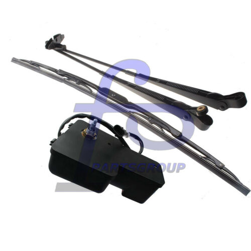 Windshield Wiper Motor Arm Blade Set For Bobcat S130 S150 S160 S175 S185 S205