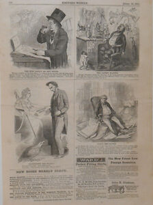 Harper S Weekly Page Civil War Political Cartoons Abe Lincoln Fort
