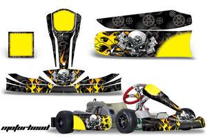 Go Kart Graphics Kit Decal Sticker Wrap For Tony Kart Cadet
