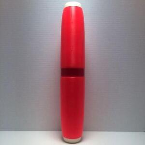 Candlepin-Bowling-Pin-Colored-Brand-New-Orange-Candlepin-With-Red-Marker