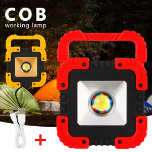100W-LED-Rechargeable-COB-Work-Light-Camping-Security-Floodlight-Emergency-Lamp