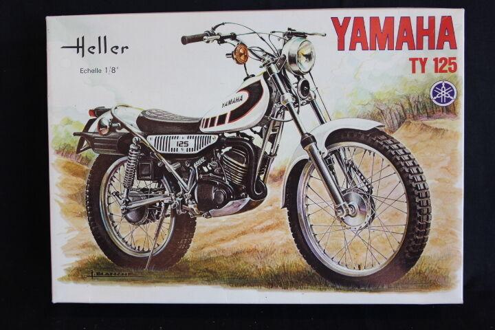 precio mas barato Heller Kit Yamaha TY125 TY125 TY125 1 8 (JH)  ¡no ser extrañado!